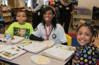The community school program at Flint's Potter Elementary is engaging AmeriCorps members to help strengthen students' reading skills.