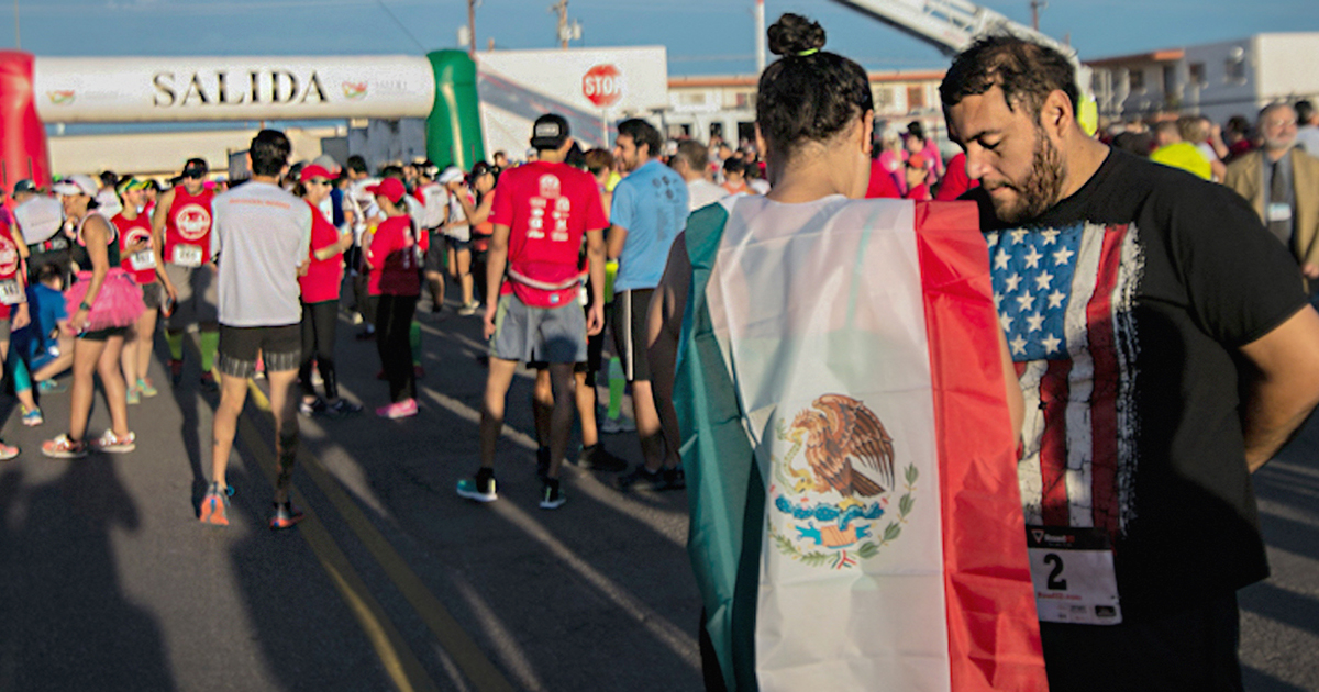 Community groups have organized cross-border races to foster unity among residents of El Paso, Texas, and Ciudad Juarez, Mexico.