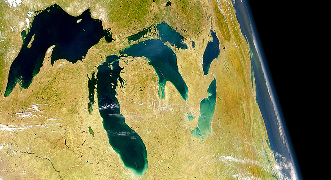 a study of the lake effect phenomena in the great lakes region Lake michigan–huron lies in the center of the great lakes location: modify the drainage structure of the region  climate phenomena to lake-level.