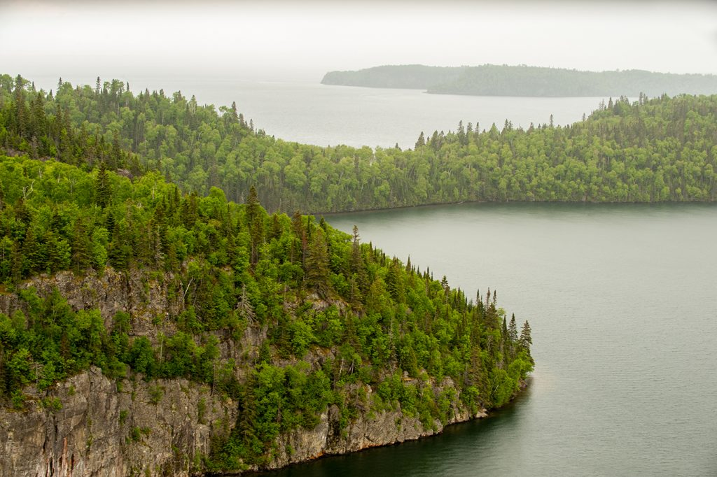 North shore of Lake Superior
