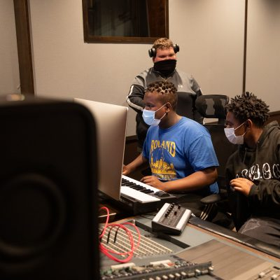 New music studio opens in Flint's Sylvester Broome Empowerment Village