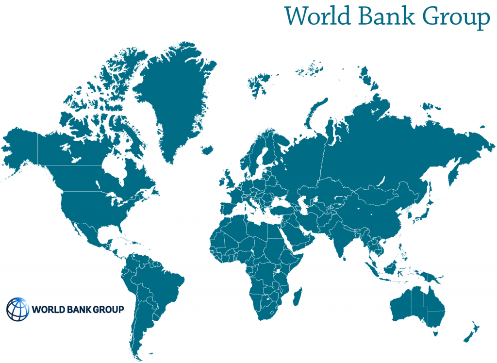 World Bank Group map